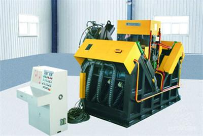 JX3540H型数控高速角钢钻孔生产线