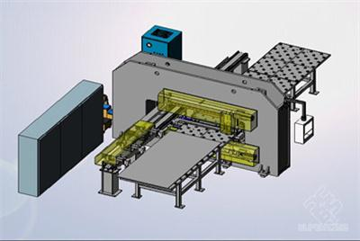 CG20型数控冲割复合机